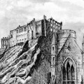 Edinburgh Castle BW