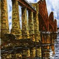 Forth Bridge, Fife color